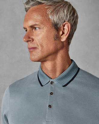 Ted Baker BELVETT Soft touch Oxford polo shirt