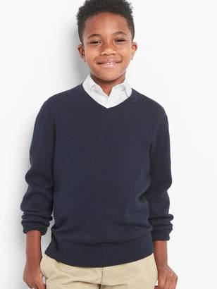 Gap Uniform V-neck sweater