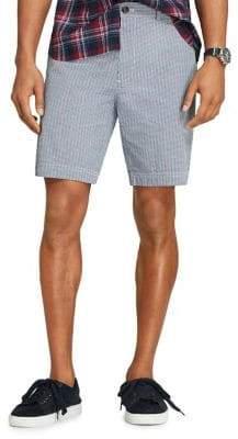 Brooks Brothers Red Fleece Printed Cotton Seersucker Shorts
