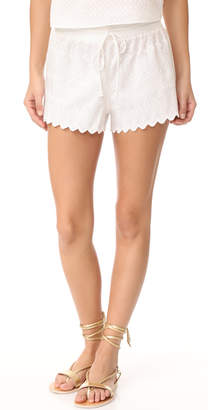 Red Carter Palazzo Shorts $120 thestylecure.com