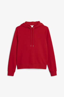 Monki Cropped hoodie