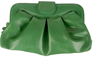 Zipper Top Clutch