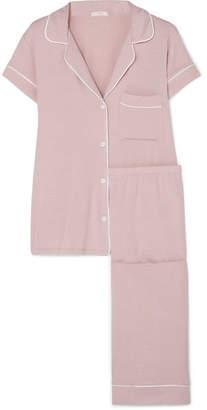 Eberjey Gisele Stretch-modal Jersey Pajama Set - Blush