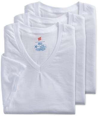Men's Hanes 3-pack Ultimate X-Temp V-neck Tees $30 thestylecure.com