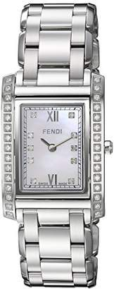 Fendi Women's 'Loop' Swiss Quartz Stainless Steel Dress Watch