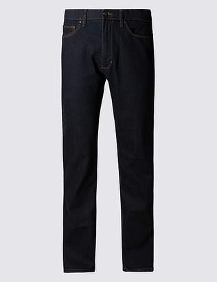 """Marks and Spencer Straight Fit Stretch Jeans with Stormwearâ""""¢"""