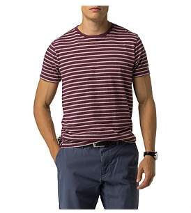 Tommy Hilfiger Classic Stripe Crew Neck Tee