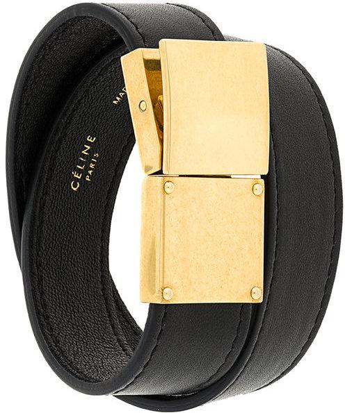CelineCéline clasp fastening bracelet