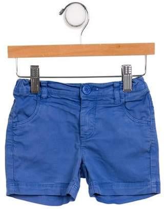 Arsène et les Pipelettes Girls' Mid-Rise Mini Shorts