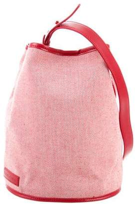 Creatures of Comfort Small Woven Bucket Bag
