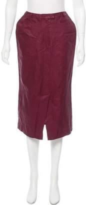 ICB Linen Midi Skirt