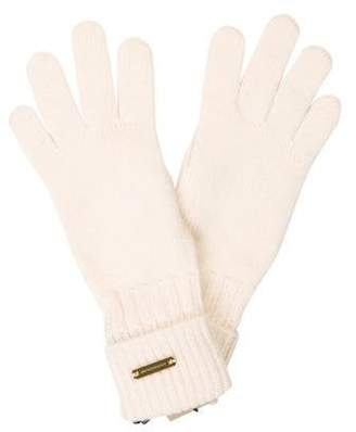 Burberry Knit Logo Gloves