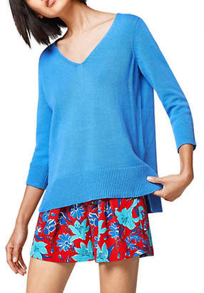 Esprit V-Neck Cotton Sweater