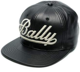 Bally logo-appliquéd cap