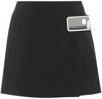 Prada Embellished miniskirt
