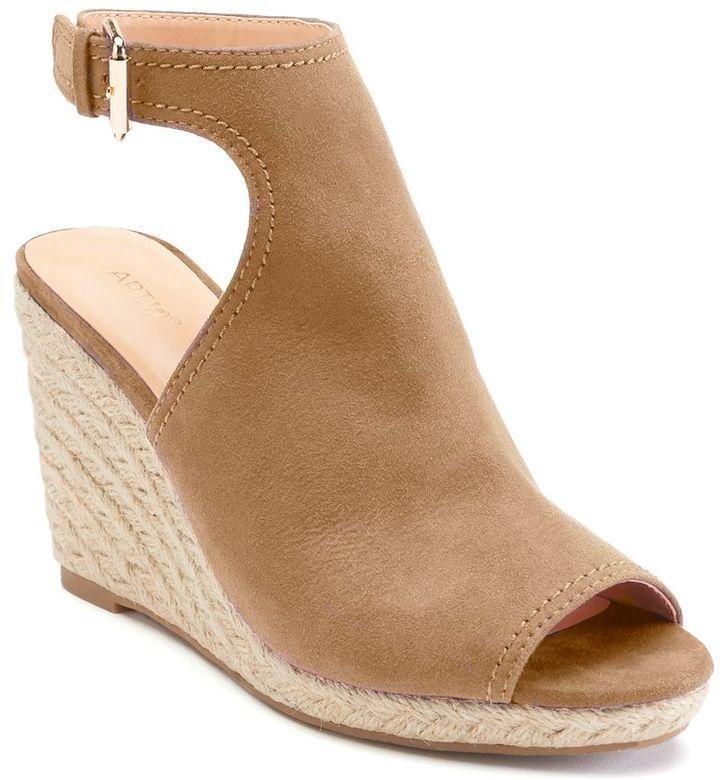 Apt. 9 Ecstatic Women's Espadrille Wedge Sandals