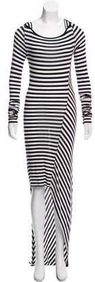 Elizabeth and James Striped High-Low Dress