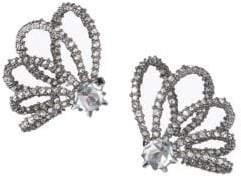 Alexis Bittar Swarovski Crystal Lace Orbiting Earrings