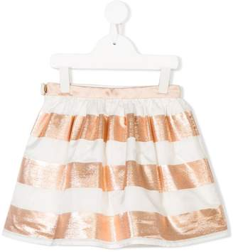 Hucklebones London gathered striped skirt