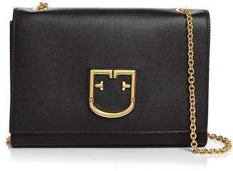Furla Convertible Leather Shoulder Bag