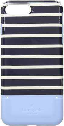 Kate Spade Santa Monica Stripe Card Case Phone Case for iPhone 8 Plus