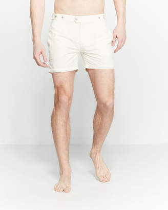 Solid & Striped The Kennedy Piped Swim Shorts