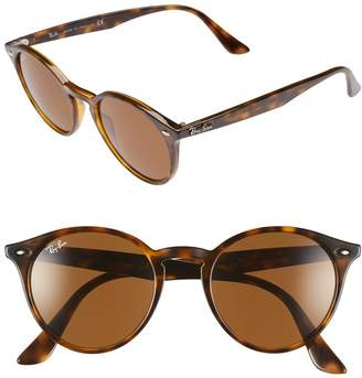 Ray-Ban Highstreet 51mm Round Sunglasses