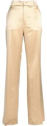 Joseph Silk-satin Wide-leg Pants