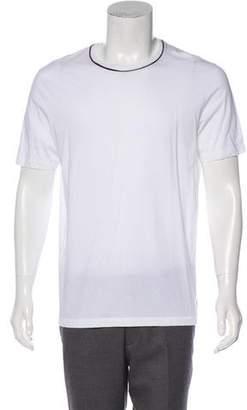 Gucci Woven Web-Trimmed T-Shirt