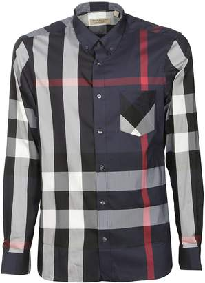 Burberry Checked Blend Shirt