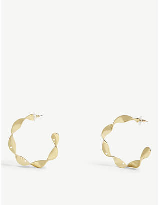 BaubleBar Nabina hoop earrings