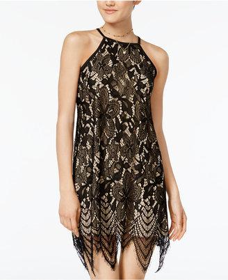 Fire Juniors' Lace Shift Dress $49 thestylecure.com