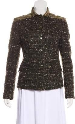 Etro Wool Bouclé Jacket