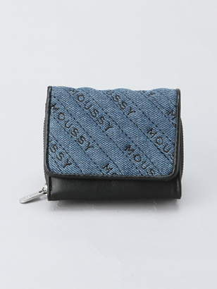 Moussy (マウジー) - MOUSSY MOUSSY/QUILTING WALLET MINI WALLET アスチュート 財布/小物