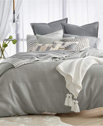 Lucky Brand Waffle Stripe 3-Pc. King Comforter Set Bedding