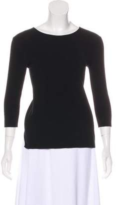 Theyskens' Theory Open Back Knit Sweater