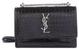 Saint LaurentSaint Laurent Mini Sunset Monogram Crossbody Bag
