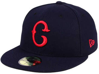New Era Cleveland Indians Turn Back The Clock 59FIFTY Fitted Cap