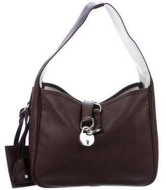 Ralph Lauren Grained Leather Hobo