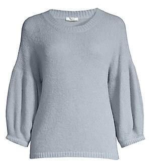 Peserico Women's Lobster Sleeve Wool & Alpaca-Blend Sweater