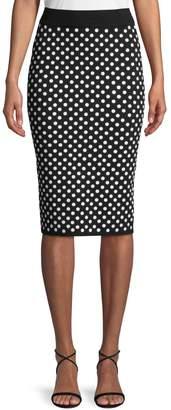 Michael Kors Sequined Pencil Skirt