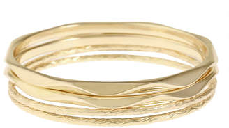MONET JEWELRY Monet Jewelry Gold Tone Bangle Bracelet