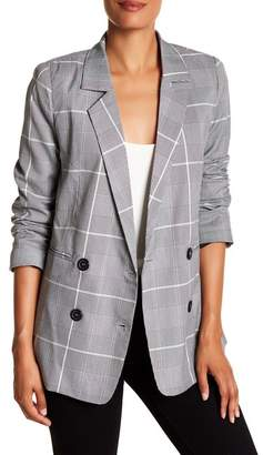Cotton On & Co. Plaid Boyfriend Blazer