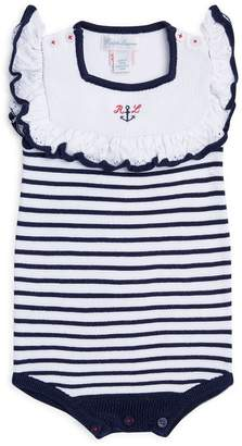 Polo Ralph Lauren Nautical Stripe Knit Bodysuit
