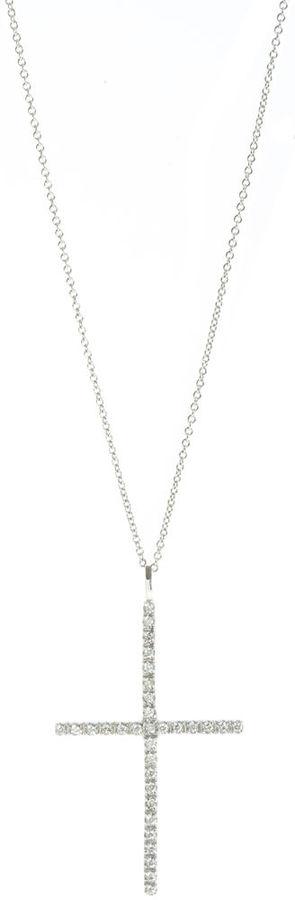 Ileana Makri Diamond Cross Necklace