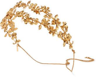 Jennifer Behr Adele Gold-plated Headband - one size