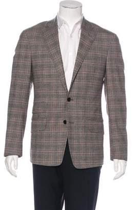 Etro Wool Glen Plaid Blazer