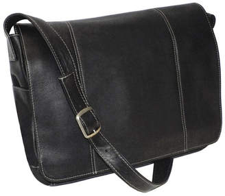 "Royce Leather Royce 13"" Laptop Messenger Bag in Colombian Genuine Leather"