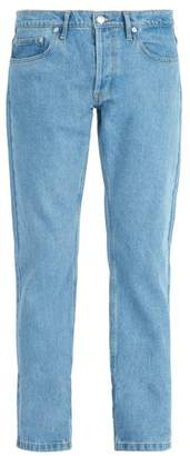 Éditions M.R editions M.r - Max Washed Straight Leg Jeans - Mens - Blue