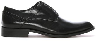 Daniel Dinton Black Leather Smart Lace Up Shoes